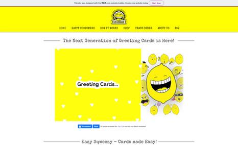 lemon-message BITTER than Greeting Cards, it's LEM-MESSAGE!