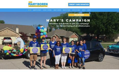 Mary Boren a campaign website of Senator Mary Brown Boren of ...