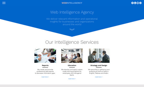 webintelligency Information and operational insights for businesse...