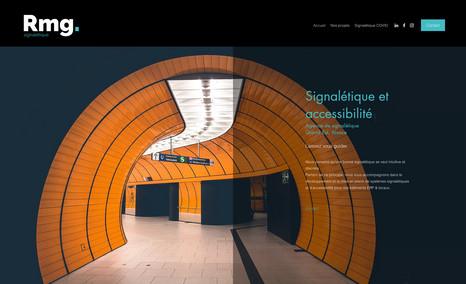 RMG SIGNALETIQUE AGENCE DE COMMUNICATION SIGNALETIQUE - PUBLICITE T...
