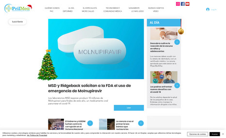 Prilmed Revista semanal de salud, realizada en EditorX una...