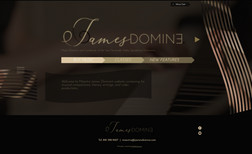 jamesdomine Maestro James Domine's website containing his musi...