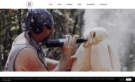 Sean Tracy Media Full Website Redesign:   About us:  We are a full-...