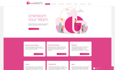 OneTeam Chartered Accountants One of the most interesting projects we have worke...