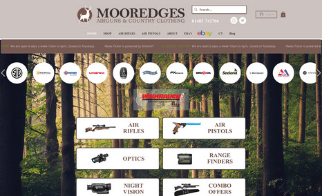 Mooredges Airguns & Country Clothing Another client who has recently seen the benefit o...