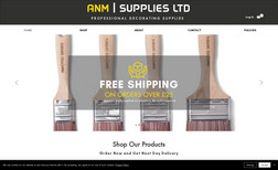 anm-supplies Ecommerce website for new venture selling high qua...