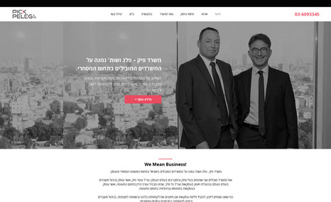 Pick Peleg & Co. Content and information site for a law firm.