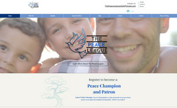 The Peace League We helped develop a non-profit website built on a ...